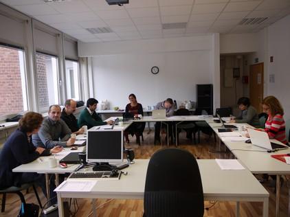 Meeting in BUPNET office