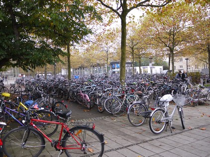 Bikes in Gottingen