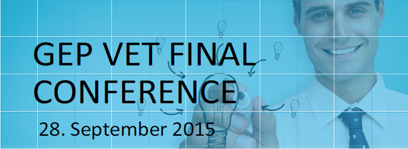 You are invited to register to the final GEP VET Conference on Entrepreneurship!